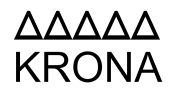 Логотип KRONA