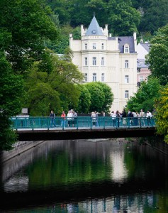 Карловы Вары - самый знаменитый курорт в Чехии