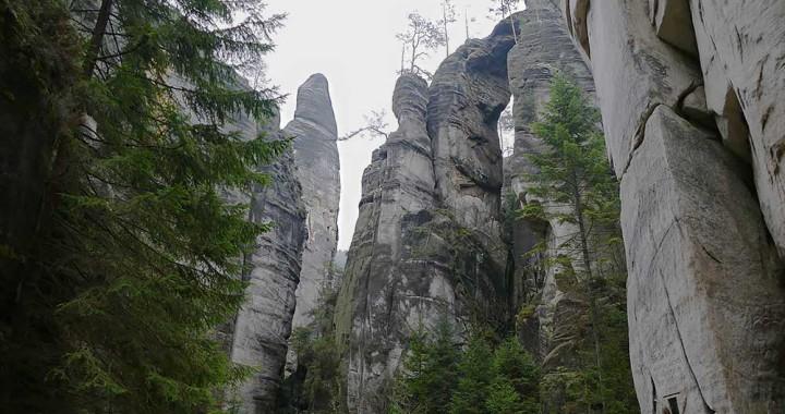 Скальный город – Адршпах