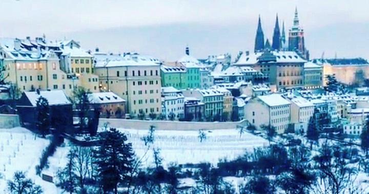 Погода в Чехии в зимнее время