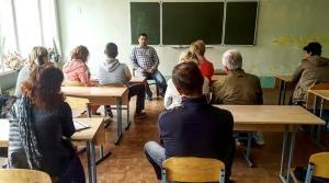 Встреча с родителями учащихся в Чехии студентов