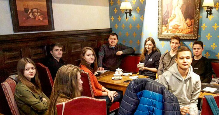 Встреча со студентами после первой сессии в Чехии