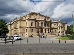 Начало учебы в чешском ВУЗе