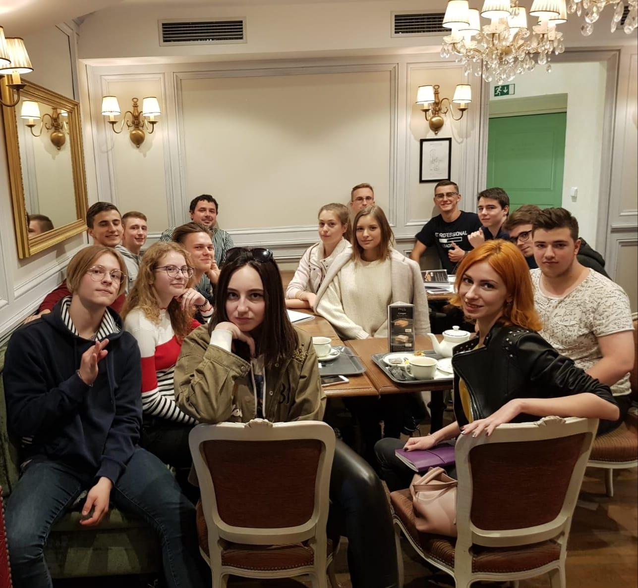Осенняя встреча со студентами, поступившими в 2018г