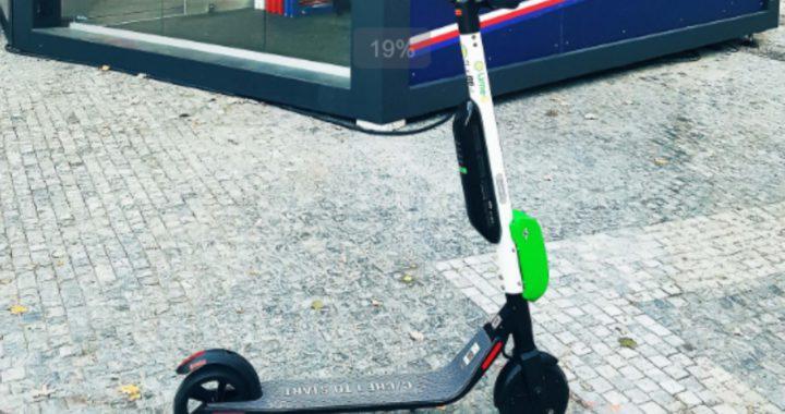 Электросамокаты Lime в Чехии