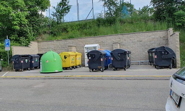 Сортировка мусора в Чехии